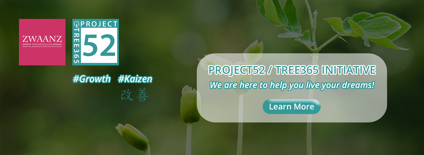 ZWAANZ | Project 52 / Tree 365 - Our Initiatives: Click to Learn More