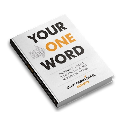 ZWAANZ | Book Review - Book Title: Your One Word | Author: Evan Carmichael